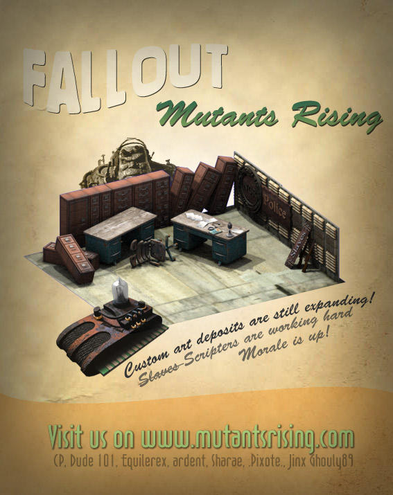 Mutants Rising - News